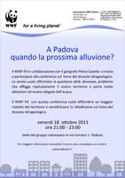 WWF Padova ONLUS - Serata sul rischio idrogeologico