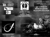 XL Corso di Speleologia GSP CAI