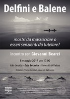 Delfini e balene all'Orto botanico di Padova