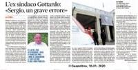 L'ex sindaco Gottardo:  «Sergio, un grave errore»